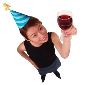 wine party hat