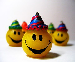 happy face hats