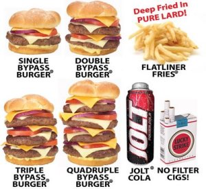 food bypass burger menu