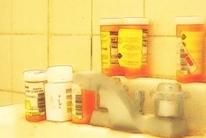 pills sink