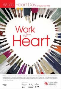 world heart day.poster