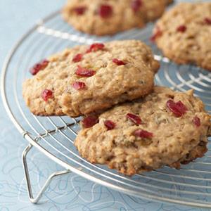 grain banana oat breakfast cookies