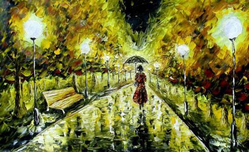 dream night rain