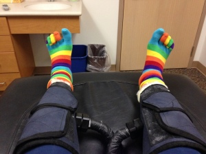 Toe Socks in Primary Colors 003